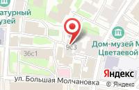 Схема проезда до компании Мария Тревел в Москве