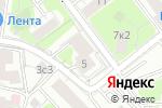Схема проезда до компании Intensive music в Москве