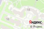 Схема проезда до компании Интерторгсервис в Москве