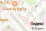 Схема проезда до компании Сбербанк Первый в Москве