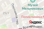 Схема проезда до компании Diverse shop в Москве