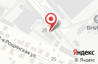 Схема проезда до компании Поликаб в Подольске
