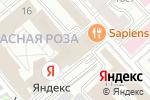 Схема проезда до компании Центр подключения водителей в Москве