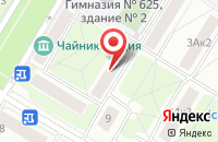 Схема проезда до компании Эйм Проперти Девелопмент в Москве