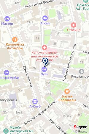 ПРЕДСТАВИТЕЛЬСТВО В МОСКВЕ ДИЗАЙН-СТУДИЯ DI PACE S.R.L. на карте Москвы