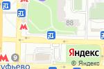 Схема проезда до компании Киоск по продаже театральных билетов в Москве