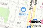 Схема проезда до компании Новое Время в Москве