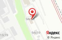 Схема проезда до компании Кабриолет в Москве