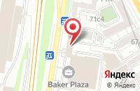 Схема проезда до компании Протекс в Москве