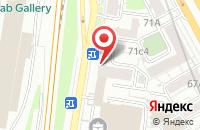 Схема проезда до компании Метратек в Москве