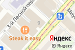 Схема проезда до компании Criteo в Москве