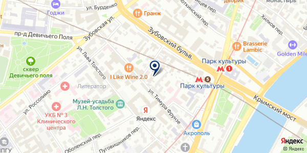 Выдыхай на карте Москве