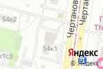 Схема проезда до компании Улыбка в Москве