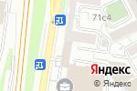 Схема проезда до компании Простые Решения в Москве