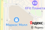 Схема проезда до компании Русский клуб в Москве