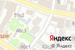 Схема проезда до компании Московский Нефтехимический банк в Москве