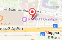 Схема проезда до компании Медиа-Консалт в Москве