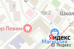Схема проезда до компании Layton в Москве