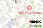 Схема проезда до компании Ortodont.Pro в Москве