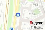 Схема проезда до компании Luck be Lady в Москве