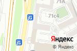 Схема проезда до компании ДженСиГрупп в Москве
