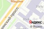 Схема проезда до компании ЭКОНИКС в Москве