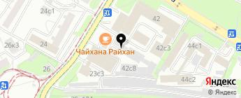 ПодборАвто на карте Москвы
