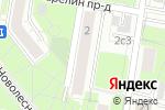 Схема проезда до компании WWWA в Москве