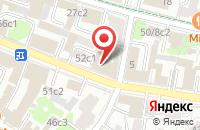 Схема проезда до компании Правовое Управление  в Москве