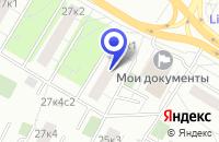 Схема проезда до компании ПТФ РИНТАД ЛЮКС в Москве