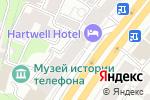 Схема проезда до компании Shagren в Москве