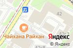 Схема проезда до компании La Stanza в Москве