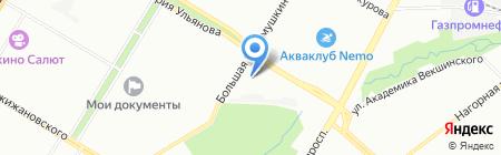 Каре на карте Москвы