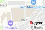 Схема проезда до компании Англетер в Москве