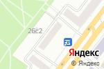 Схема проезда до компании ИНТЕРЬЕРЫ ЭКСТРА КЛАССА в Москве
