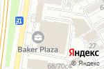 Схема проезда до компании Just Invite в Москве