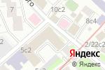 Схема проезда до компании Ксения Тур в Москве