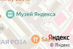Схема проезда до компании Nailsprofi в Москве