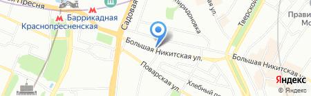 Солнечный Экспресс на карте Москвы