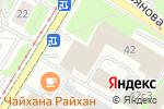 Схема проезда до компании СОЮЗ КЕРАМИКА в Москве