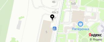 Стекло-Сервис на карте Москвы