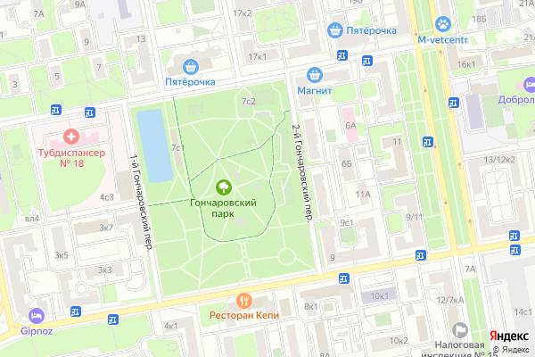 Ремонт телевизоров Район Бутырский на яндекс карте