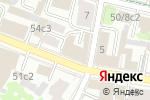 Схема проезда до компании Солнечный Экспресс в Москве