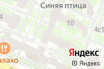 Схема проезда до компании Новое право в Москве