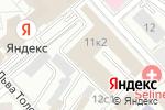 Схема проезда до компании Яндекс в Москве