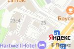 Схема проезда до компании Флай Ту Флай в Москве