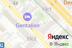 Схема проезда до компании Новосёл в Москве