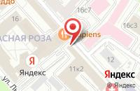 Схема проезда до компании Медиа Лайн в Москве