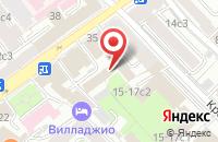 Схема проезда до компании Ю.К. Омега в Москве