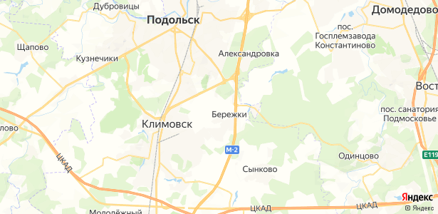 Коледино на карте